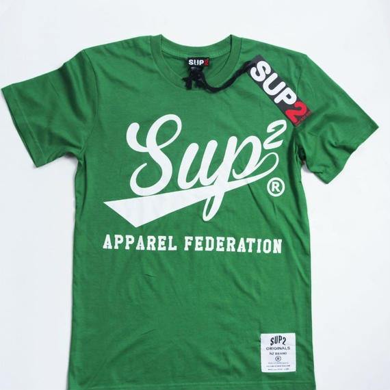 APPAREL FEDERATION MENS TEE (Kerrygreen/White)