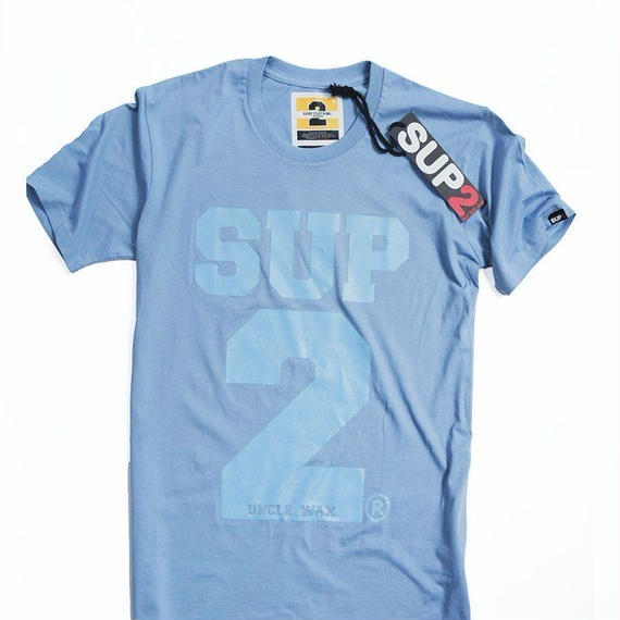BIG BLOCK MENS TEE-MONO(Calolina blue/Blue)