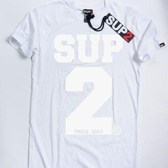BIG BLOCK MENS TEE-MONO(White/White)