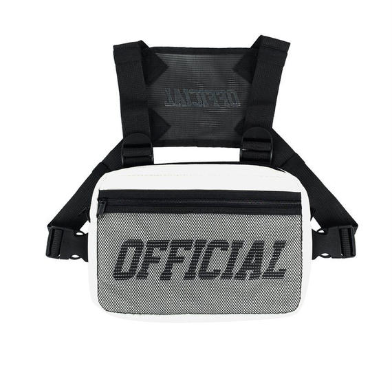 【OFFICIAL】MELROSE CHEST UTILITY BAG (WHITE)
