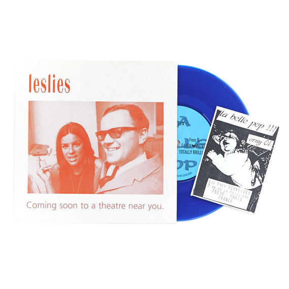 "Leslies - Coming Soon To A Theatre Near You 7"" EP"