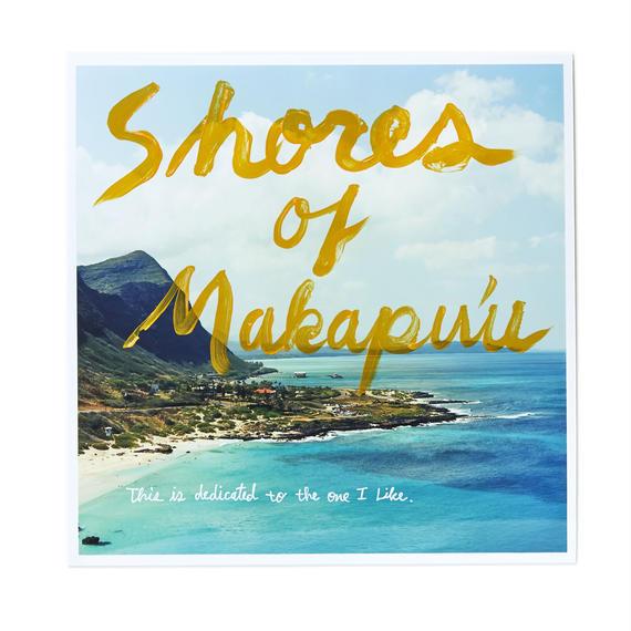 Original Print with Paint - Shores of Makapu'u 1/1