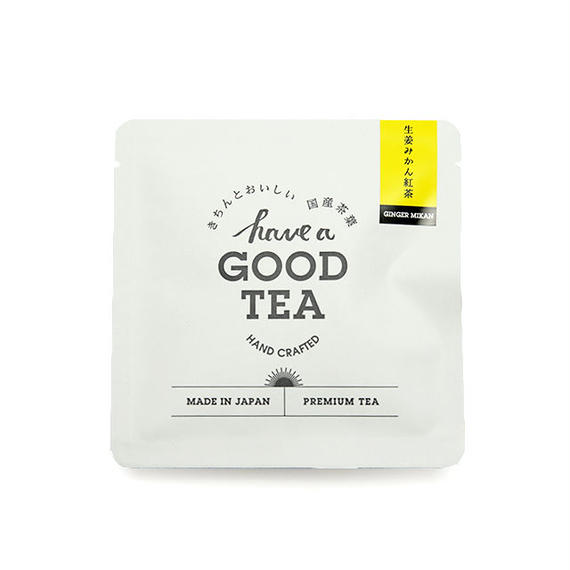 生姜みかん紅茶(T-bag 1個入り)
