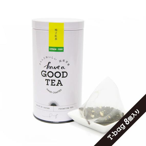 ゆず紅茶(T-bag8個入り缶)