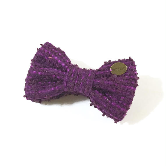 banana clip★purple