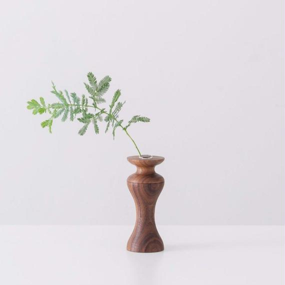 flower vase  S  walnut