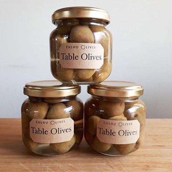テーブルオリーブ(オリーブ塩水漬け)