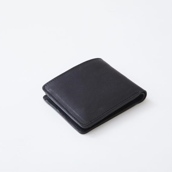 half wallet(ブラック)