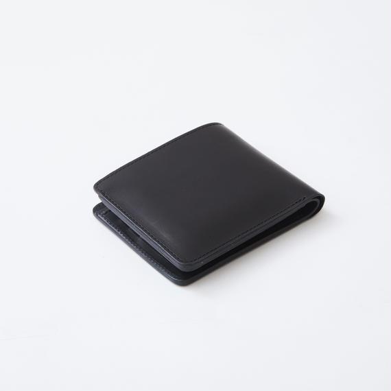 half wallet(バッファロー/ブラック)