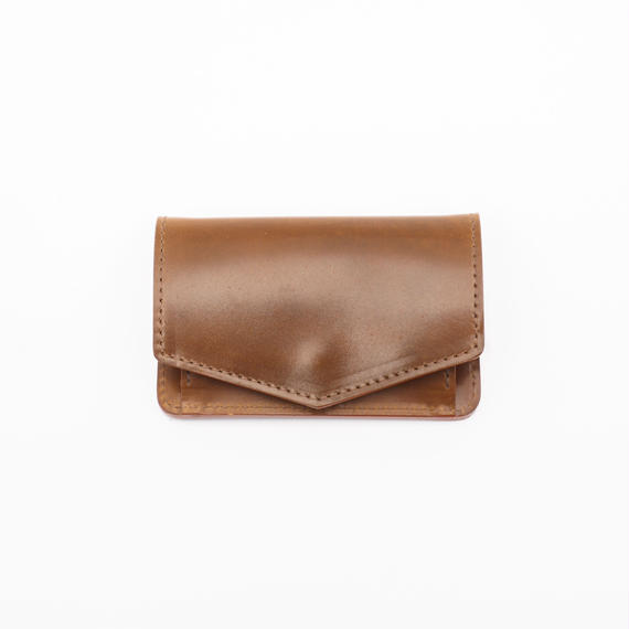 mini wallet(コードバン/ブラウン)