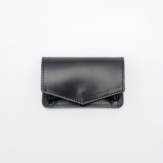 mini wallet(コードバン/ブラック)