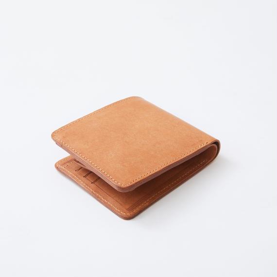 half wallet(ナチュラル)