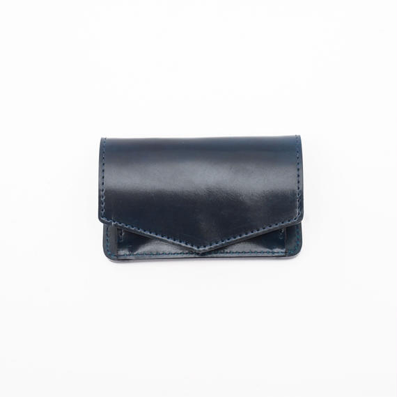 mini wallet(コードバン/ネイビー)