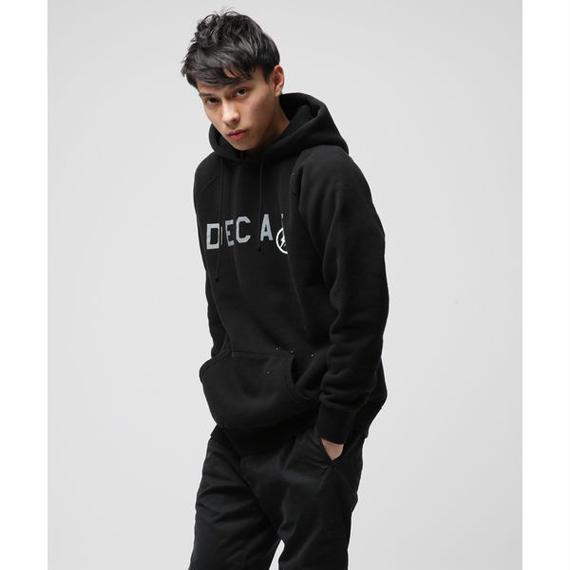 DENIM BY VANQUISH & FRAGMENT DECAF PULLOVER HOODIE Sweatshirt Cotton Black size S [VFC2015]