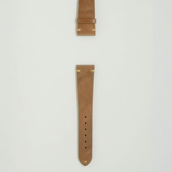 Aging Leather Strap for ROLEX Creta