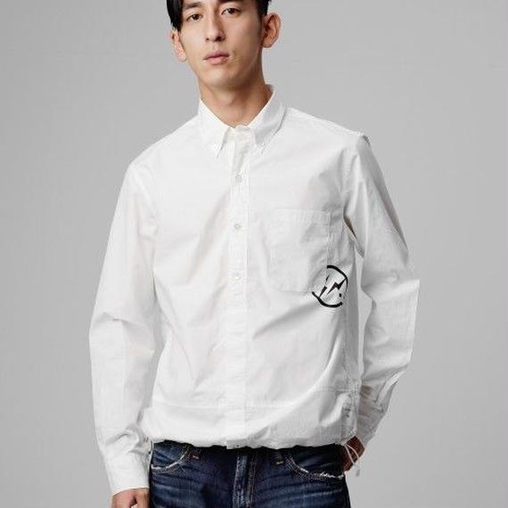 アイコンプリントコーチシャツ / ホワイト / S