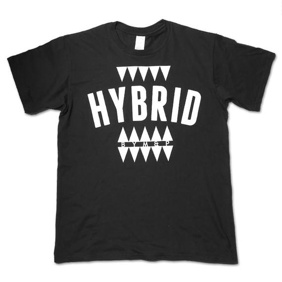 "BYM&P x ""E""qual ""HYBRID"" Collaboration T-shirts <Black>"