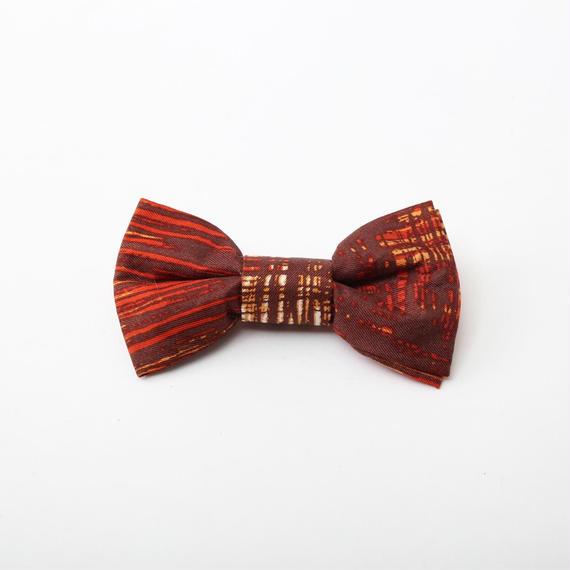 vintageスカーフ蝶ネクタイ《001》