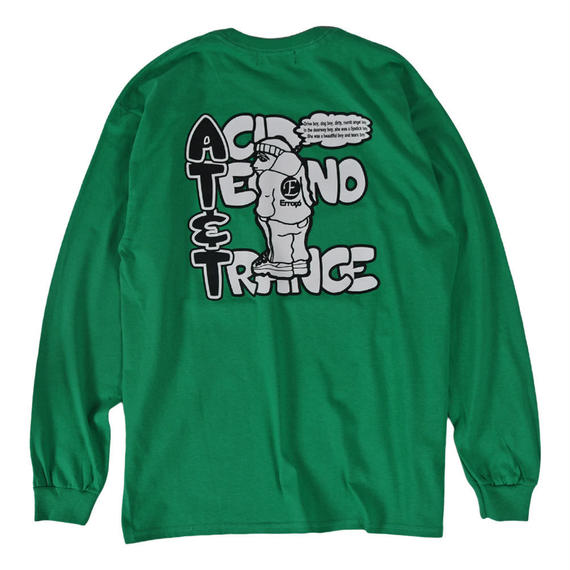 AT&T L/S TEE / GREEN【即納】