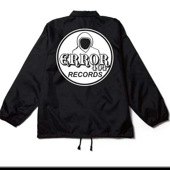 ERROR404 RECORDS COACH JACKET