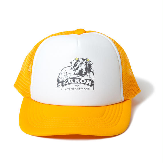 CRING MESH CAP / YELLOW【即納】