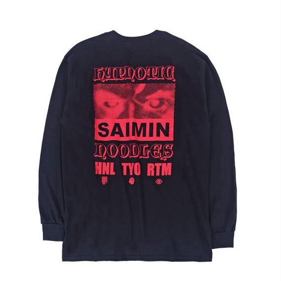 SAIMIN L/S TEE / BLACK