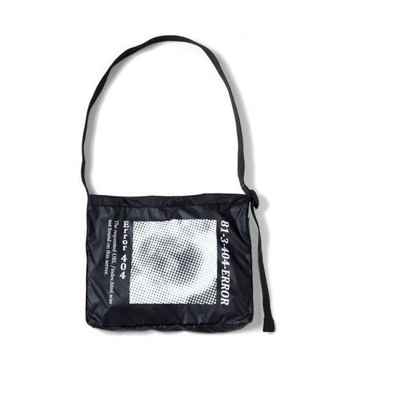 GABBER BAG / BLACK