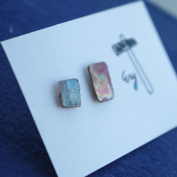 brass pierce-small square-