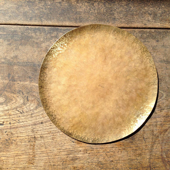 brass plate 20cm