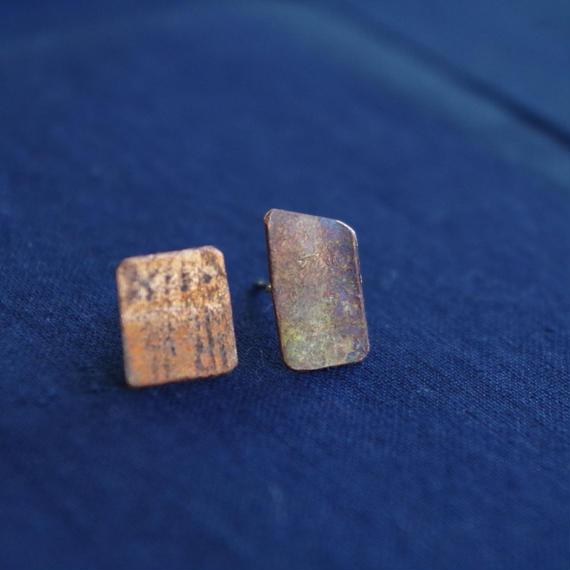 copper pierce-small square-