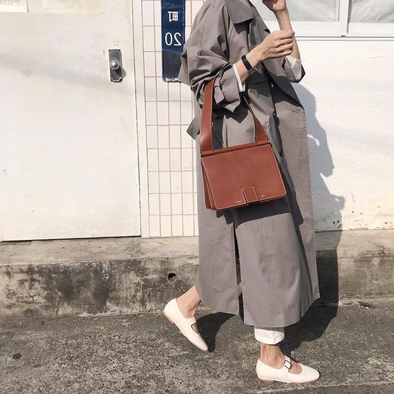 【EruMon】トレンチチェスターコート ロングコート トレンチコート