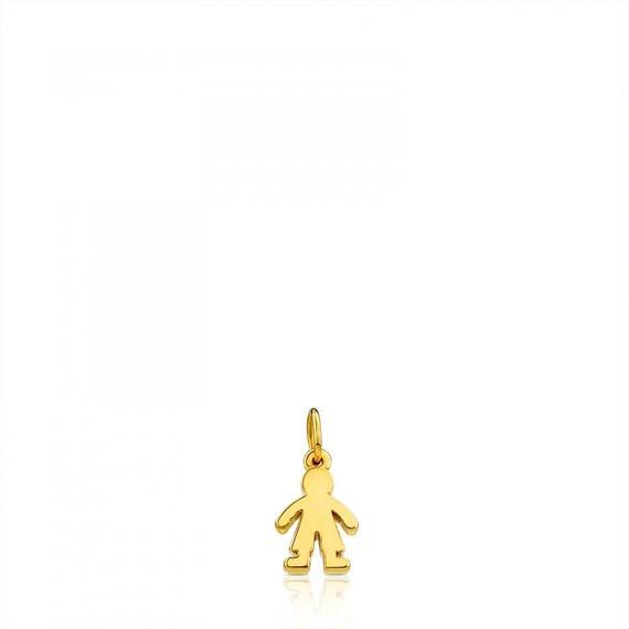 ゴールドのペンダントトップ Sweet Dolls(015904120)