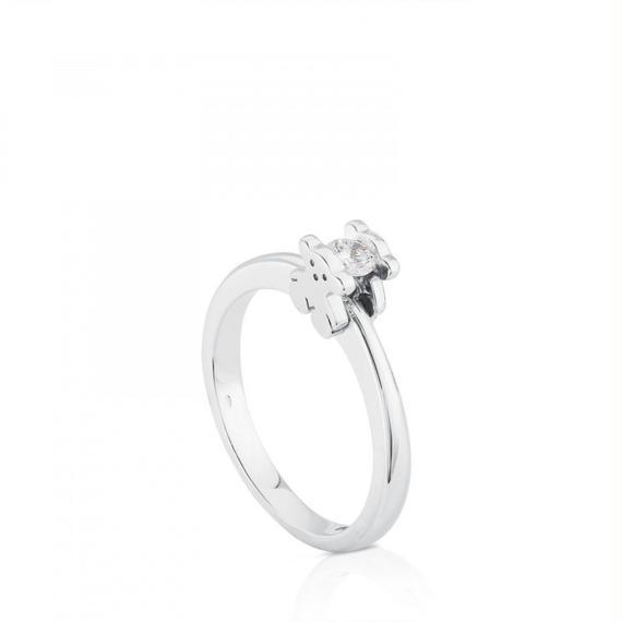 ゴールドのソリティアリング Sweet Diamonds(215535010)