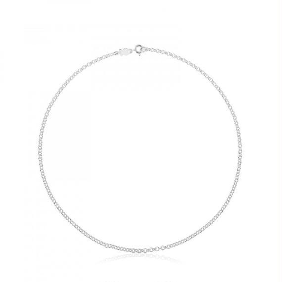 シルバーのチョーカー TOUS Chain(511900520)