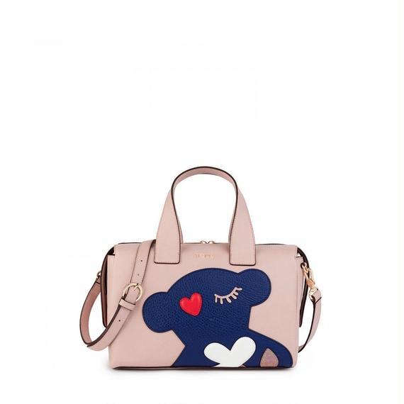 ピンクのボウリングバッグ Patch Art(895890141)