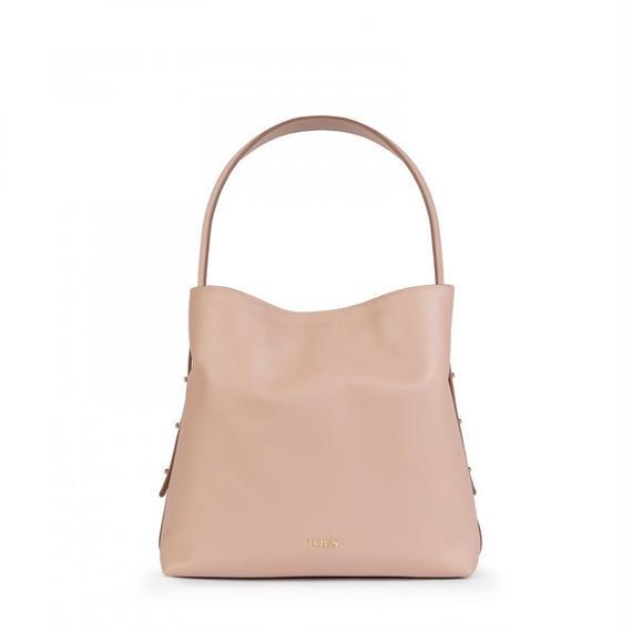 ピンクの革製サックSibil(895890037)