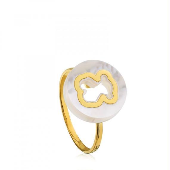 ゴールドのリング Göz(612605001)