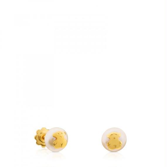ゴールドのピアス Baby TOUS(311003200)