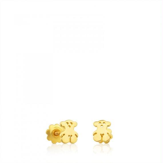 ゴールドのピアス Baby TOUS(311001430)