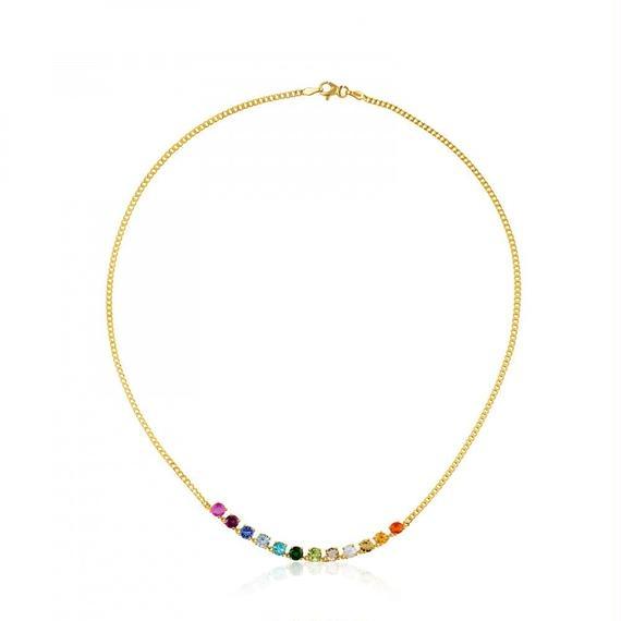 ゴールドのネックレス Mix Color(512852030)