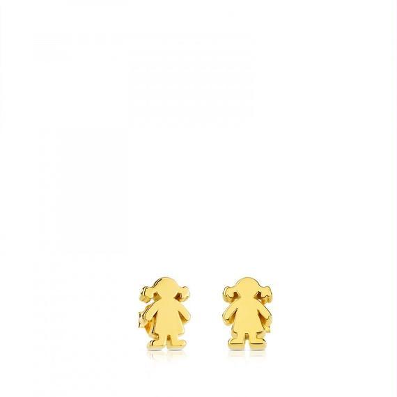 ゴールドのピアス Sweet Dolls(015903020)
