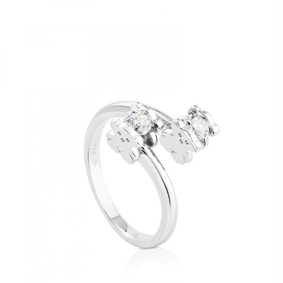 ゴールドのソリティアリング TOUS Diamonds(215535223)