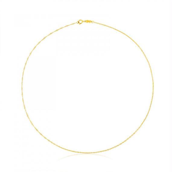 ゴールドのチョーカー TOUS Chain(614001880)