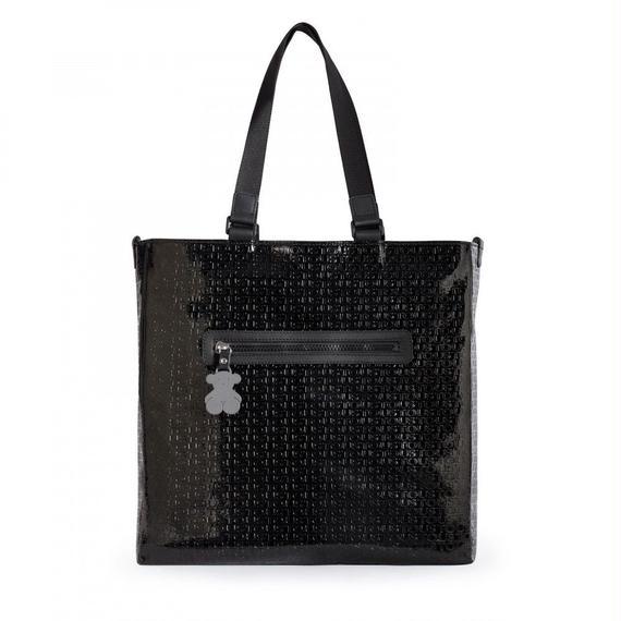 ブラックのショッピングバッグ Lindsay(195890165)