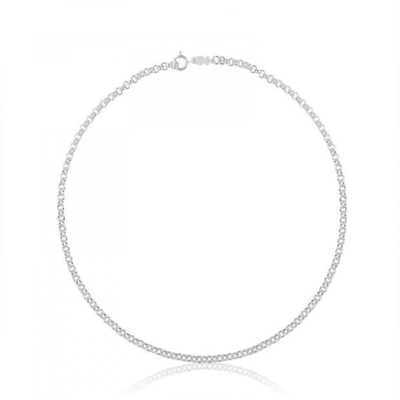 シルバーのチョーカー TOUS Chain(511900200)