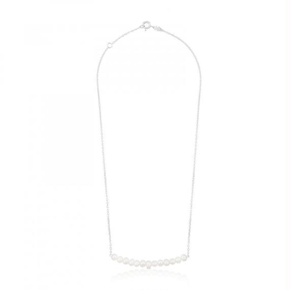 シルバーのネックレス Straight(512722500)