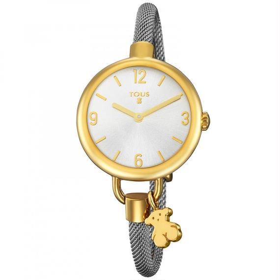 ステンレスのバンドが付いたステンレス IP ゴールドの腕時計 Hold(700350220)