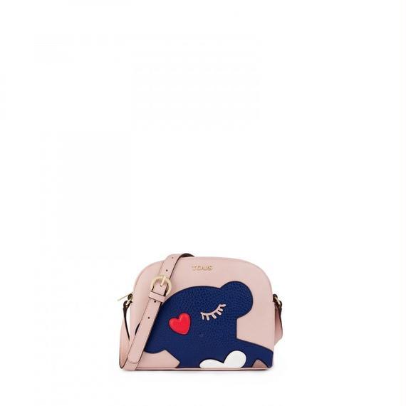 ピンクのショルダーバッグ Patch Art(895890139)