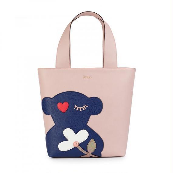 ピンクのショッピングバッグ Patch Art (895890143)