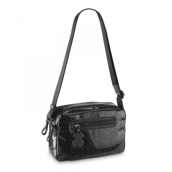 ブラックの小型ショルダーバッグ Lindsay(195890159)